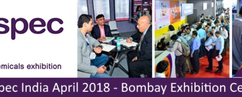 Chemspec April 2018 - Bombay Exhibition Center - Mumbai, India